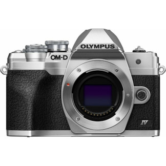 Olympus OM D E M10 Mark IV silber Gehäuse